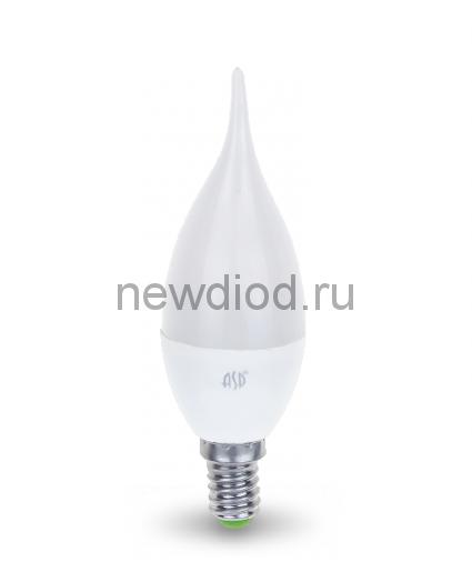 Лампа светодиодная LED-СВЕЧА НА ВЕТРУ-standard 5Вт 160-260В Е14 3000К 450Лм ASD