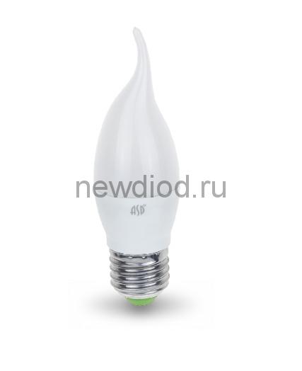 Лампа светодиодная LED-СВЕЧА НА ВЕТРУ-standard 5Вт 160-260В Е27 4000К 450Лм ASD