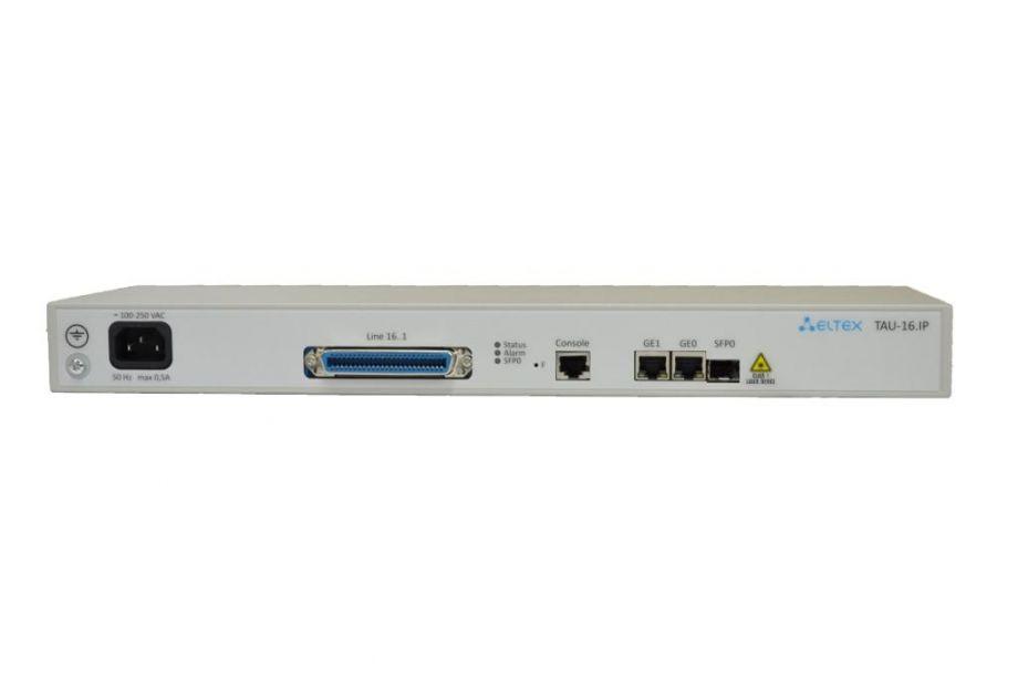 VoIP-шлюз TAU-16.IP: 16хFXS
