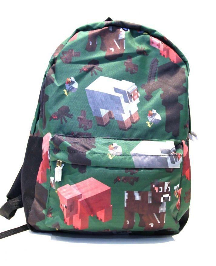 Молодежный рюкзак ПодЪполье Minecraft-13