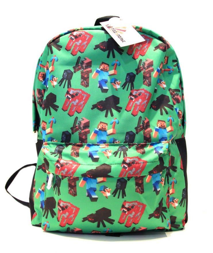 Молодежный рюкзак ПодЪполье Minecraft-26