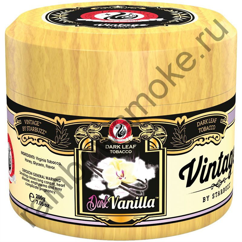 Starbuzz Vintage 200 гр - Dark Vanilla (Тёмная ваниль)
