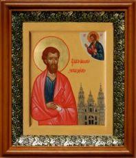 Иаков Заведеев (19х22), светлый киот