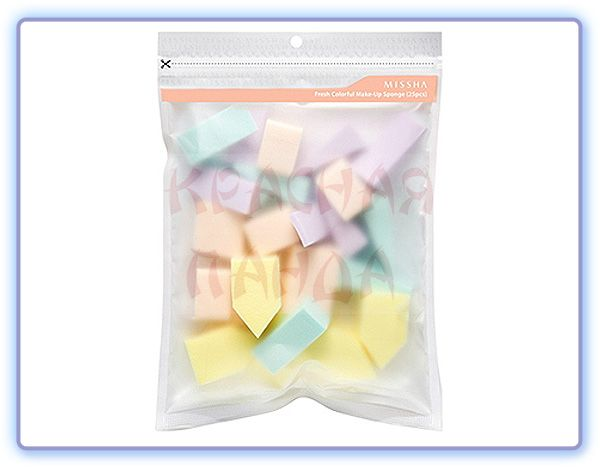 Спонжи косметические Fresh Colorful Makeup Sponge
