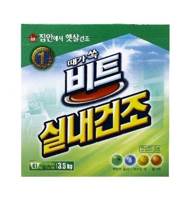 Корейский стиральный порошок CJ Lion Beat in door Сушка в помещении 3,5 кг