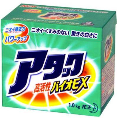 Товар недели! Японский порошок-концентрат с защитой от пожелтения белья KAO Attack 1кг