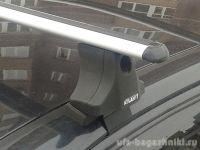 Багажник на крышу Hyundai Elantra 3, Атлант, аэродинамические дуги