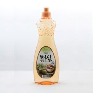 612247 Средство для мытья посуды, овощей и фруктов Японский абрикос 1л мягкая уп