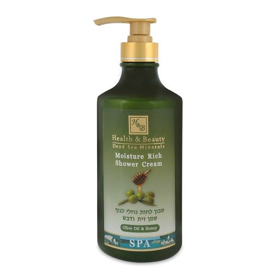 Увлажняющий крем-гель для душа Оливковое масло и Мед Health & Beauty (Хэлс энд Бьюти) 780 мл