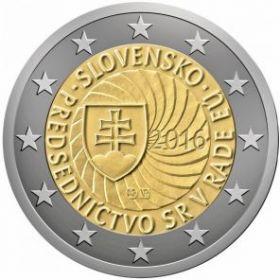 Председательство Словакии в ЕС 2 евро Словакия 2016