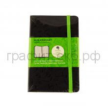Книжка зап.Moleskine Pocket Evernote клетка черный MM712EVER