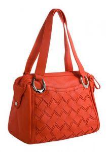 Красная итальянская сумка
