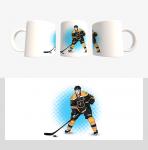 Кружка с хоккейной символикой (Арт. К-24)