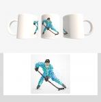 Кружка с хоккейной символикой (Арт. К-27)