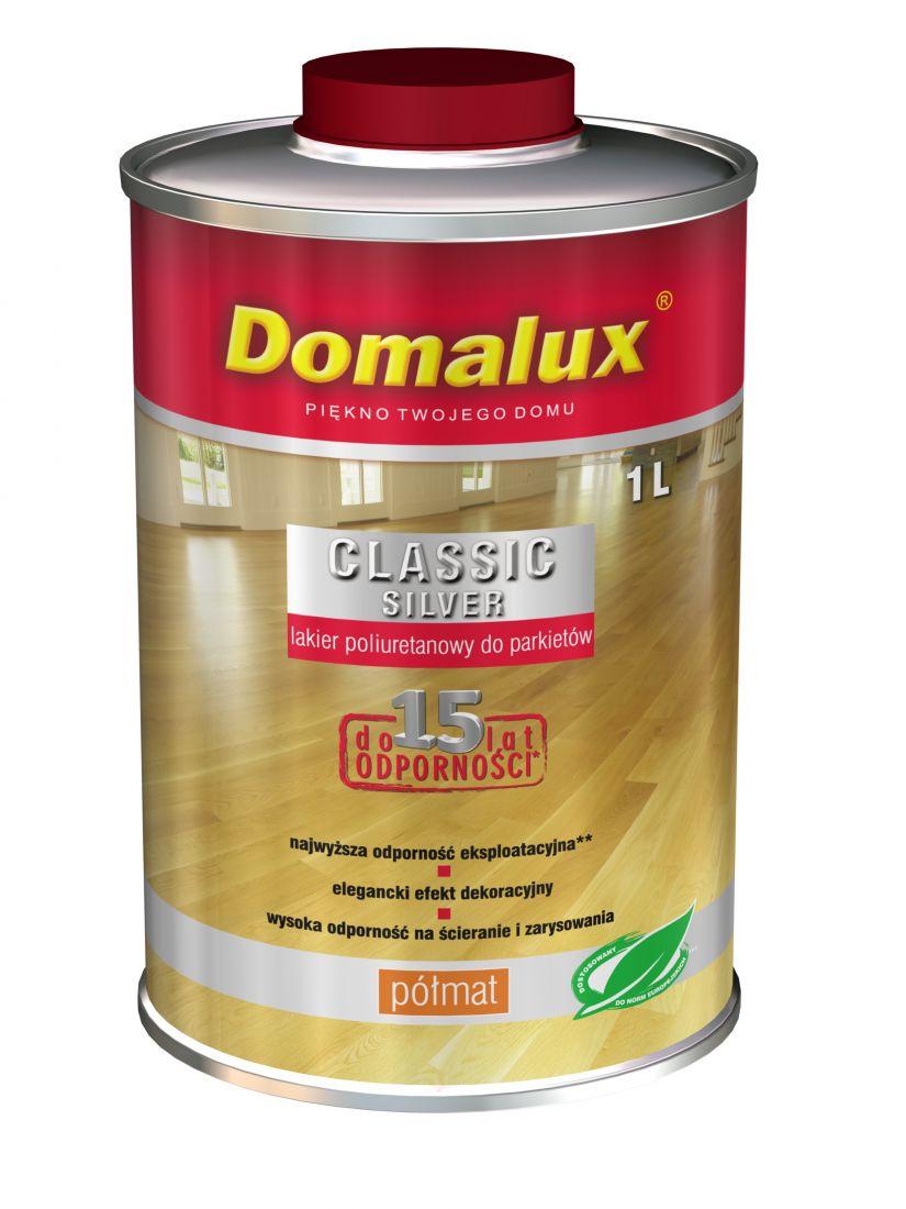 Лак для паркетов Domalux Classic Silver