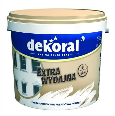 Краска фасадная Dekoral Polinit