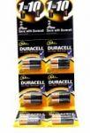 Батарейка алкалиновая DURACELL LR06 BL12 (12x10=120) ALKALINE AA  (НА БЛИСТЕРЕ)