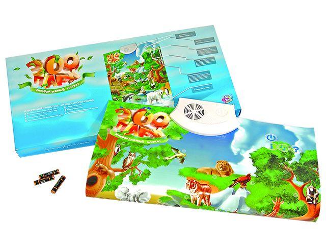 Электронная игра-плакат Зоопарк