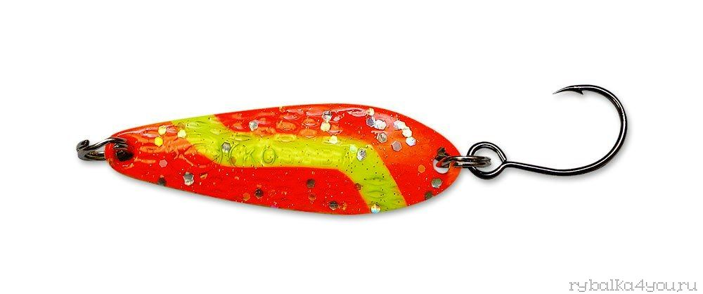 Купить Блесна Kosadaka Micron (одинарный крючок) 41 мм / 6 гр цвет OY