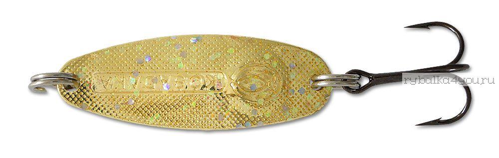 Купить Блесна Kosadaka Micron (тройник) 33 мм / 3 гр цвет GL