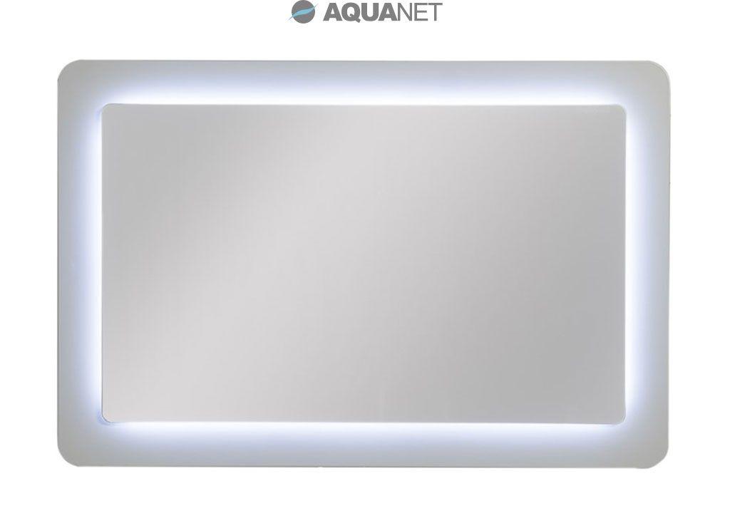 Зеркало Aquanet DL-01 90*60, с внутр LED подсветкой, со стекл обрамлением ,с Pull cord выключателем (180764)