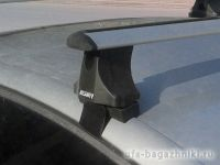 Багажник на крышу Hyundai Sonata 5, Атлант, крыловидные аэродуги