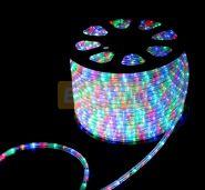 Дюралайт светодиодный, свечение с динамикой (3W), мульти(RYGB), 220В, диаметр 13 мм, бухта 100м, NEON-NIGHT