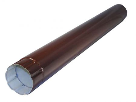 Труба водосточная соединительная Grand Line® , Ø 100 мм, L 1м