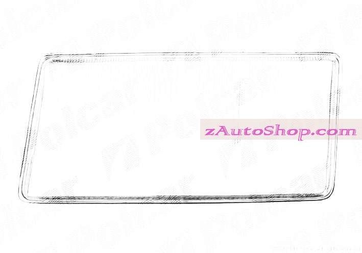 MERCEDES 190 (201) 10.82 - 08.93 :Стекло фары левое (без рамочки, тип=BOSCH)