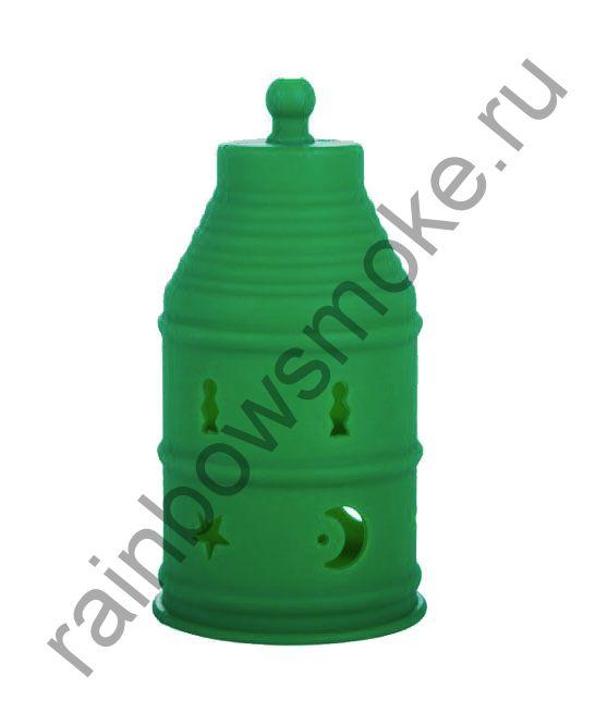 Колпак силиконовый зелёный