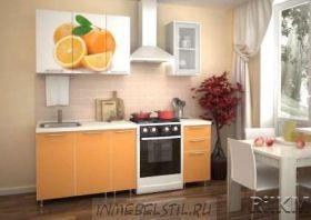 Кухня  ЛДСП  1,5 м / 2,0м (с фотопечатью)