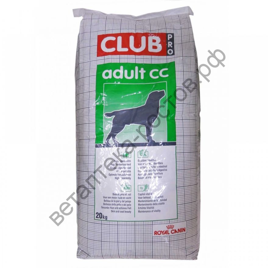 Royal Canin для собак Club PRO Adult CC