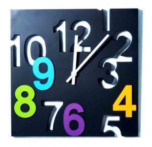 Часы Вырезанные цифры