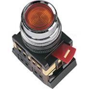Кнопка ABLF-22  красная 1з+1р ИЭК