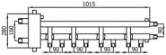 Коллектор Супер-Стандарт 5/90 (0+4+1)  до 100 кВт