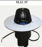 Кровельная воронка HL62.1Pс электроподогревом U=230B, мощность 10-30Вт Арт. HL62.1Р