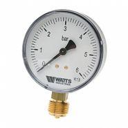 "Манометр радиальный 80мм, 0-16 бар  Watts F+R200(MDR) 80/16x1/2"""