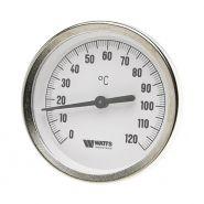 Термометр биметаллический с погружной гильзой F+R801(TSD) 63/50  Watts