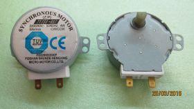 Мотор вращения тарелки СВЧ 220V-240V, 5/6 r/min, высота вала 11 мм