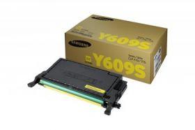 Картридж оригинальный Samsung CLT-Y609S жёлтый