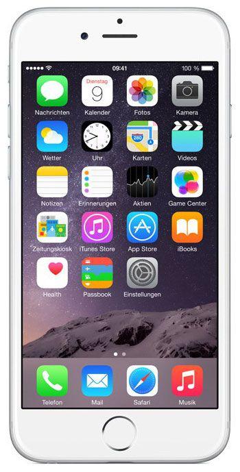 Мобильный телефон Apple iPhone 6 64 Gb Silver A1586