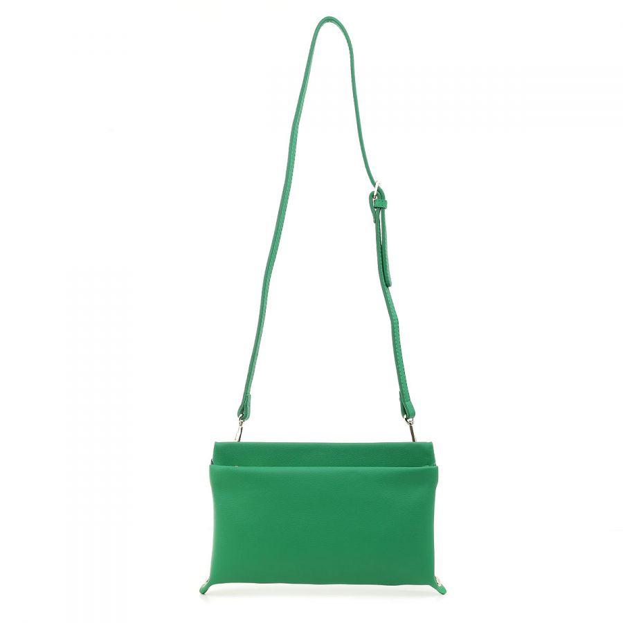 Зелёный клатч Fiato