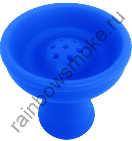 Силиконовая чаша синяя (стандарт)