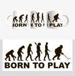 Кружка с хоккейной символикой (Арт. К-100)