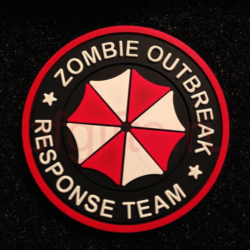 Патч ПВХ Zombie outbreak response team