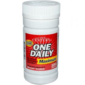 21st Century Health Care One Daily Maximum Multivitamin Multimineral (100 табл.)
