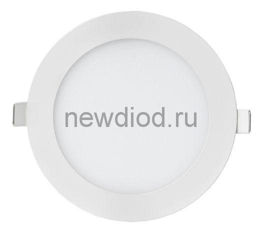Панель светодиодная круглая RLP-eco 14Вт 160-260В 4000К 1120Лм 170/155мм белая IP40