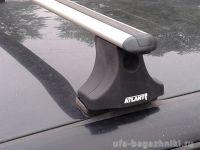 Багажник на крышу Volkswagen Golf 3, Атлант, прямоугольные дуги