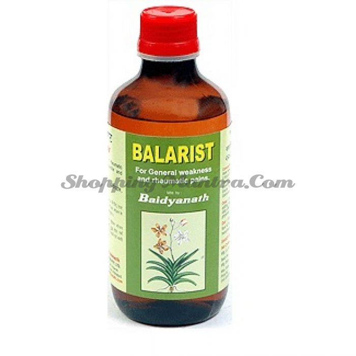 Баларишта лекарственная настойка для лечения нарушений Вата типа Байдьянатх / Baidyanath Balarishta