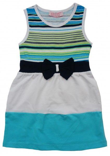 Легкое платье на лето с коротким рукавом